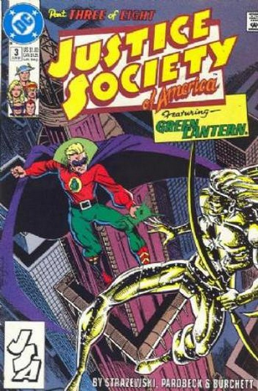 Cover of Justice Society of America (1991 Ltd) #3. One of 250,000 Vintage American Comics on sale from Krypton!