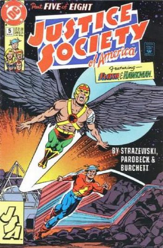 Cover of Justice Society of America (1991 Ltd) #5. One of 250,000 Vintage American Comics on sale from Krypton!