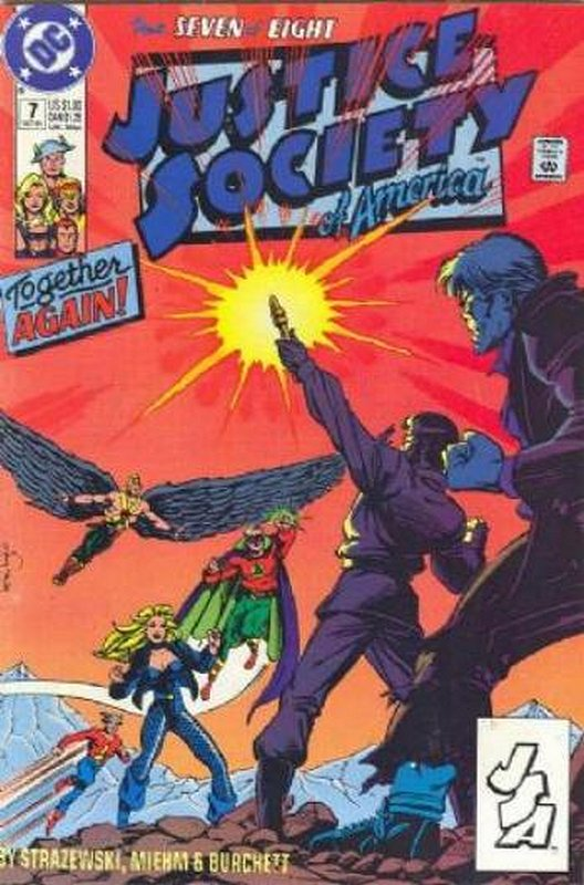 Cover of Justice Society of America (1991 Ltd) #7. One of 250,000 Vintage American Comics on sale from Krypton!