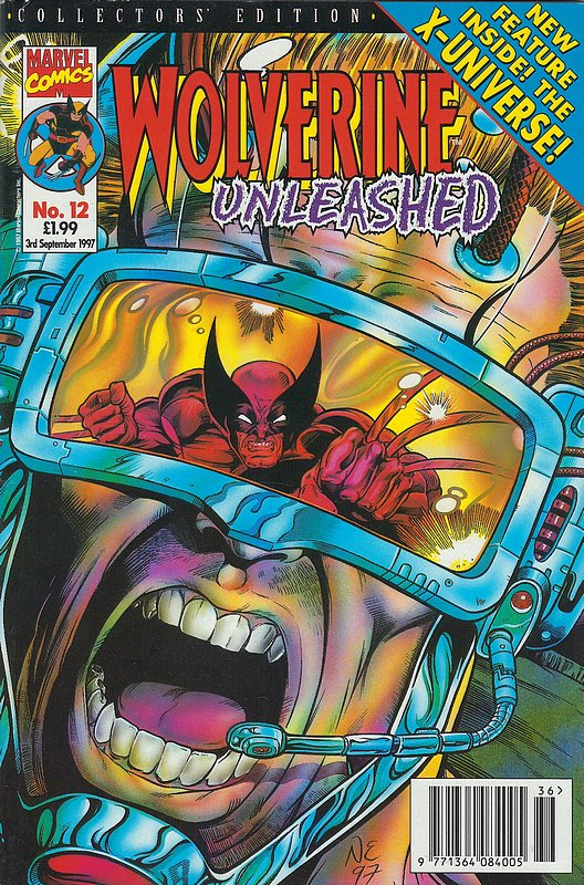Cover of Wolverine Unleashed (Vol 1) (UK) #12. One of 250,000 Vintage American Comics on sale from Krypton!