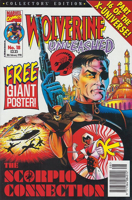 Cover of Wolverine Unleashed (Vol 1) (UK) #18. One of 250,000 Vintage American Comics on sale from Krypton!