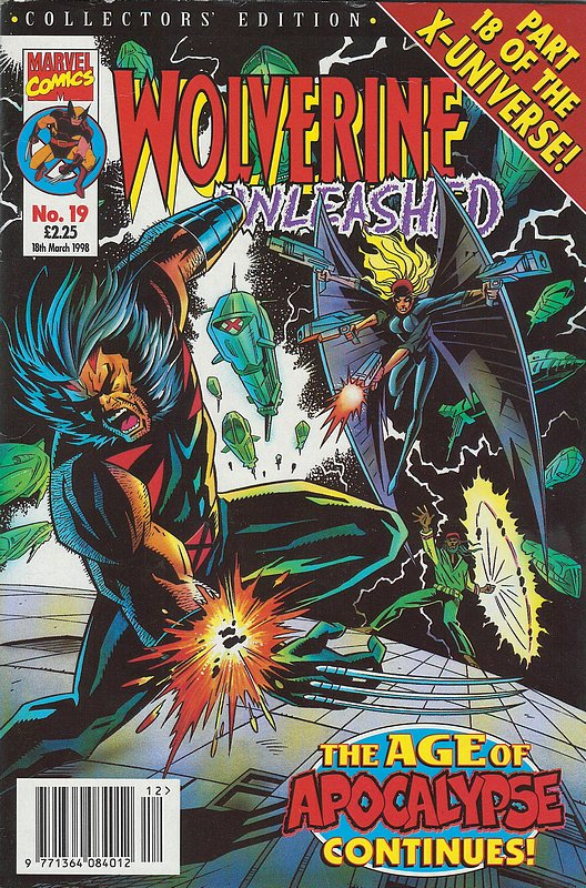 Cover of Wolverine Unleashed (Vol 1) (UK) #19. One of 250,000 Vintage American Comics on sale from Krypton!