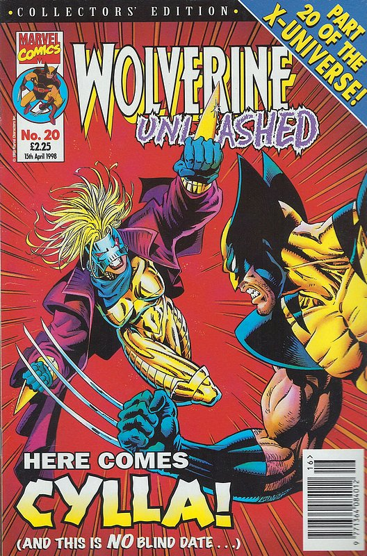 Cover of Wolverine Unleashed (Vol 1) (UK) #20. One of 250,000 Vintage American Comics on sale from Krypton!