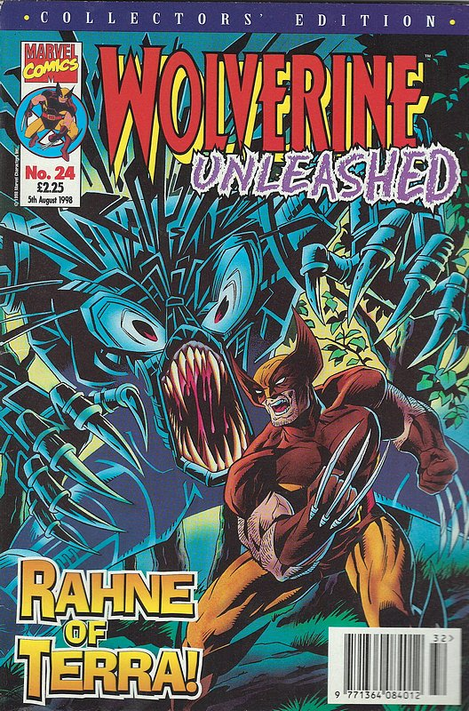 Cover of Wolverine Unleashed (Vol 1) (UK) #24. One of 250,000 Vintage American Comics on sale from Krypton!