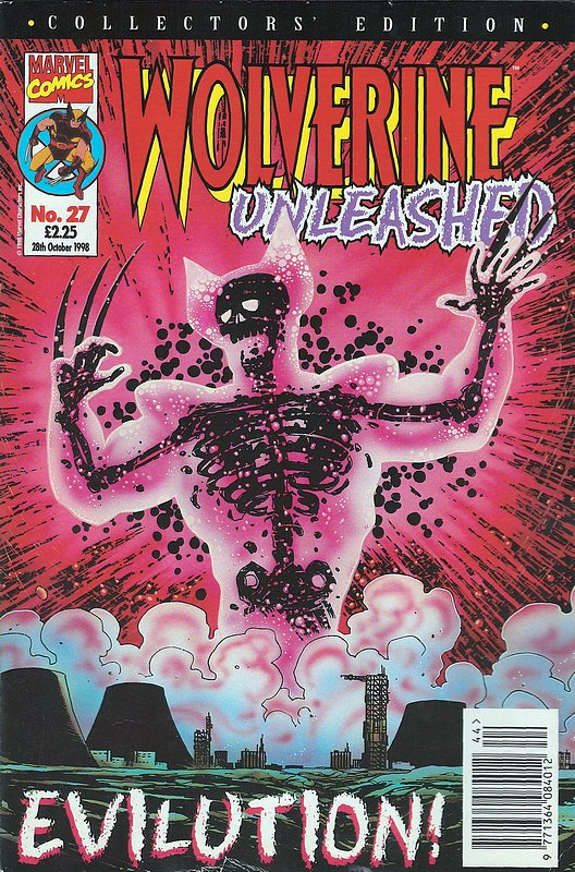 Cover of Wolverine Unleashed (Vol 1) (UK) #27. One of 250,000 Vintage American Comics on sale from Krypton!