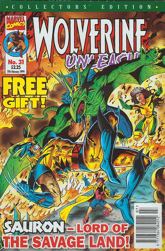 Cover of Wolverine Unleashed (Vol 1) (UK) #31. One of 250,000 Vintage American Comics on sale from Krypton!