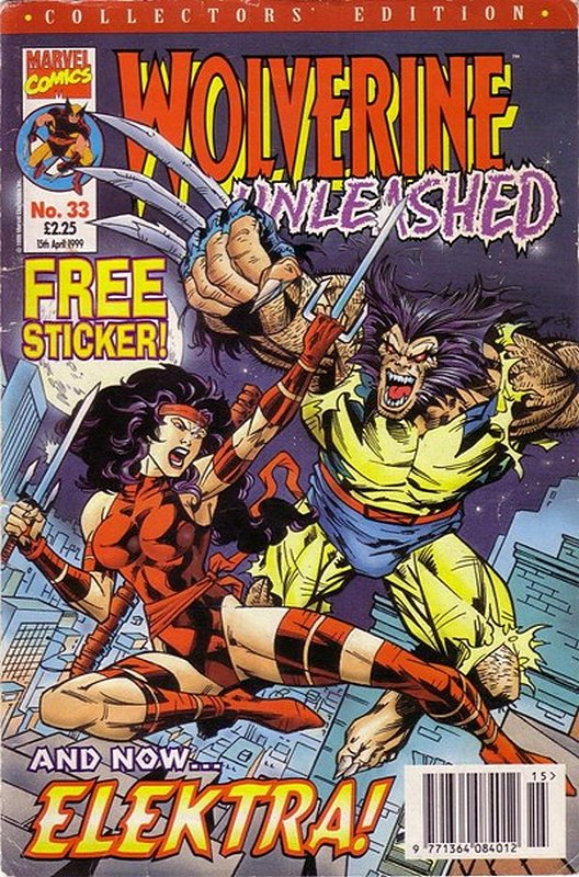 Cover of Wolverine Unleashed (Vol 1) (UK) #33. One of 250,000 Vintage American Comics on sale from Krypton!