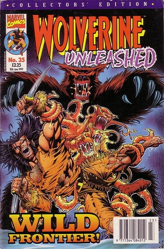 Cover of Wolverine Unleashed (Vol 1) (UK) #35. One of 250,000 Vintage American Comics on sale from Krypton!