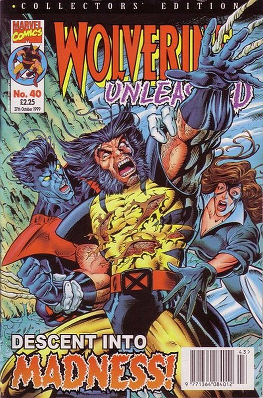 Cover of Wolverine Unleashed (Vol 1) (UK) #40. One of 250,000 Vintage American Comics on sale from Krypton!