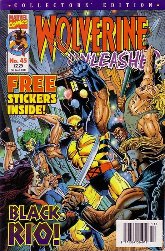 Cover of Wolverine Unleashed (Vol 1) (UK) #45. One of 250,000 Vintage American Comics on sale from Krypton!