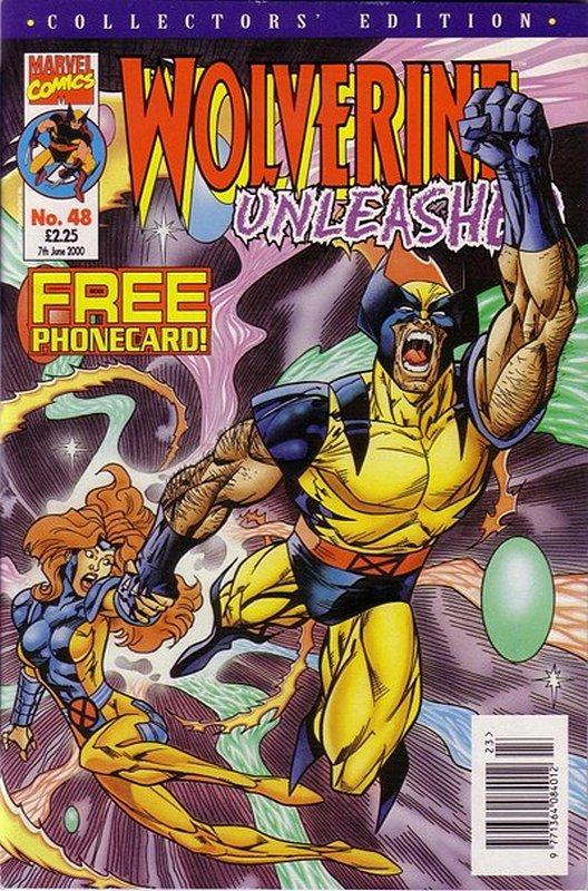 Cover of Wolverine Unleashed (Vol 1) (UK) #48. One of 250,000 Vintage American Comics on sale from Krypton!