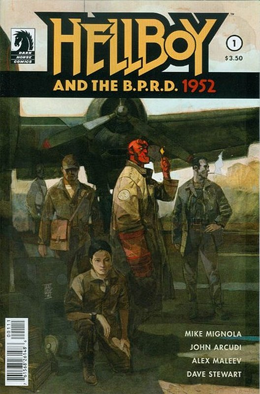 Cover of Hellboy & BPRD (2014 Ltd) #1. One of 250,000 Vintage American Comics on sale from Krypton!