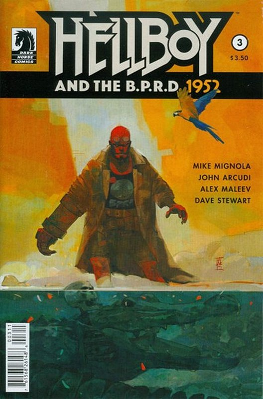 Cover of Hellboy & BPRD (2014 Ltd) #3. One of 250,000 Vintage American Comics on sale from Krypton!