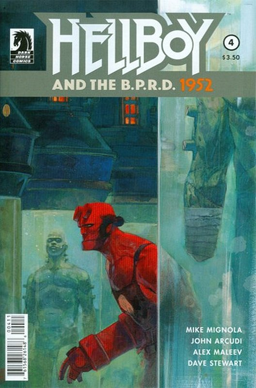 Cover of Hellboy & BPRD (2014 Ltd) #4. One of 250,000 Vintage American Comics on sale from Krypton!
