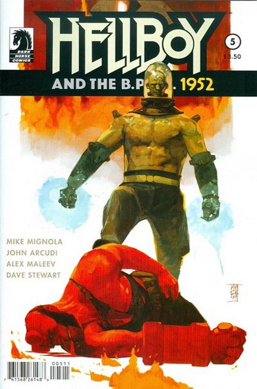 Cover of Hellboy & BPRD (2014 Ltd) #5. One of 250,000 Vintage American Comics on sale from Krypton!