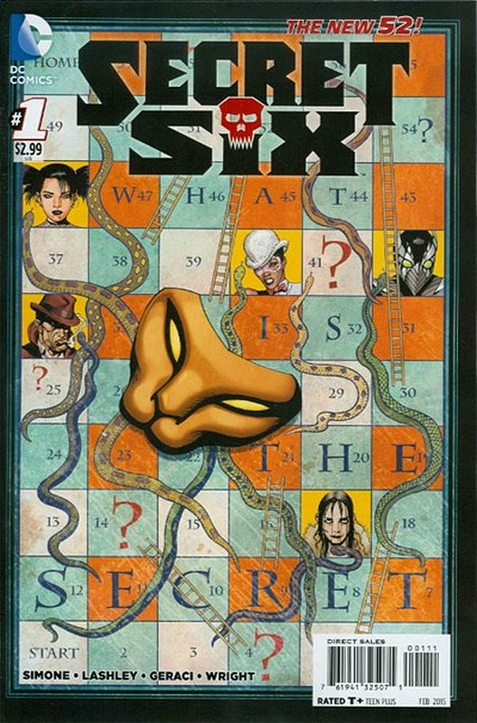 Cover of Secret Six (Vol 3) #1. One of 250,000 Vintage American Comics on sale from Krypton!
