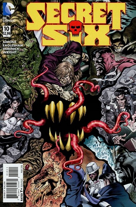Cover of Secret Six (Vol 3) #10. One of 250,000 Vintage American Comics on sale from Krypton!
