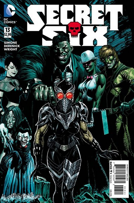 Cover of Secret Six (Vol 3) #13. One of 250,000 Vintage American Comics on sale from Krypton!