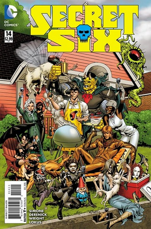 Cover of Secret Six (Vol 3) #14. One of 250,000 Vintage American Comics on sale from Krypton!