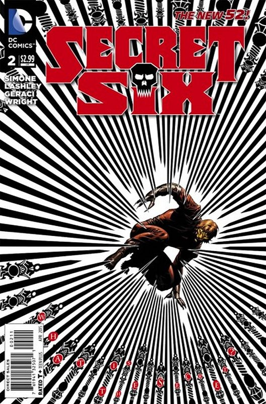 Cover of Secret Six (Vol 3) #2. One of 250,000 Vintage American Comics on sale from Krypton!