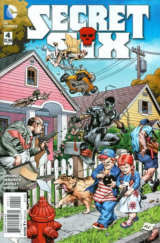 Cover of Secret Six (Vol 3) #4. One of 250,000 Vintage American Comics on sale from Krypton!