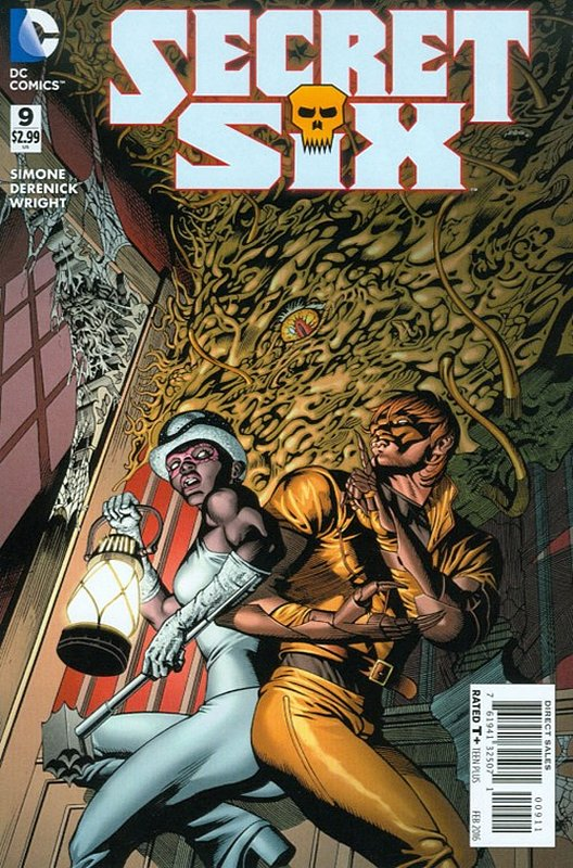 Cover of Secret Six (Vol 3) #9. One of 250,000 Vintage American Comics on sale from Krypton!