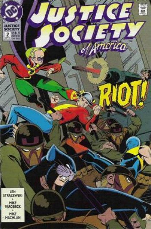 Cover of Justice Society of America (Vol 1) #2. One of 250,000 Vintage American Comics on sale from Krypton!