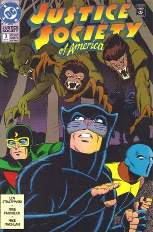 Cover of Justice Society of America (Vol 1) #3. One of 250,000 Vintage American Comics on sale from Krypton!
