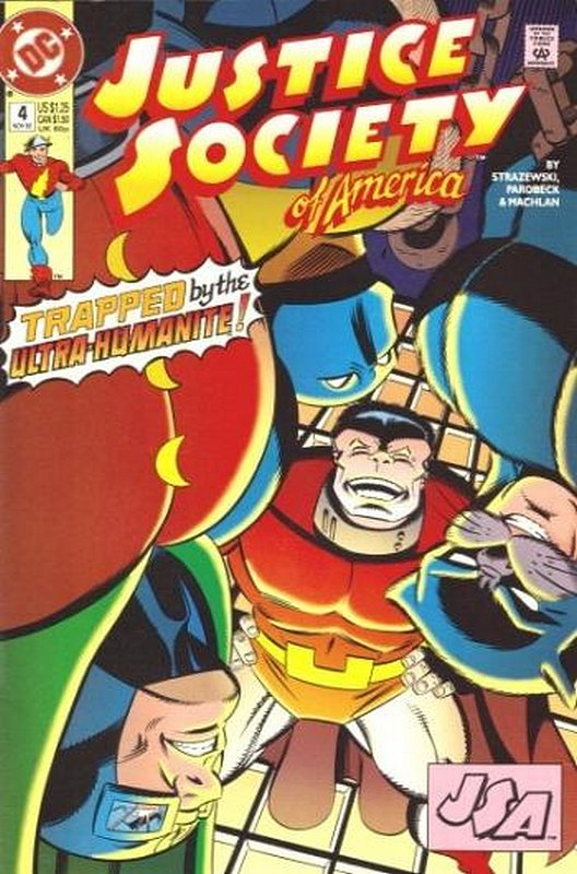 Cover of Justice Society of America (Vol 1) #4. One of 250,000 Vintage American Comics on sale from Krypton!