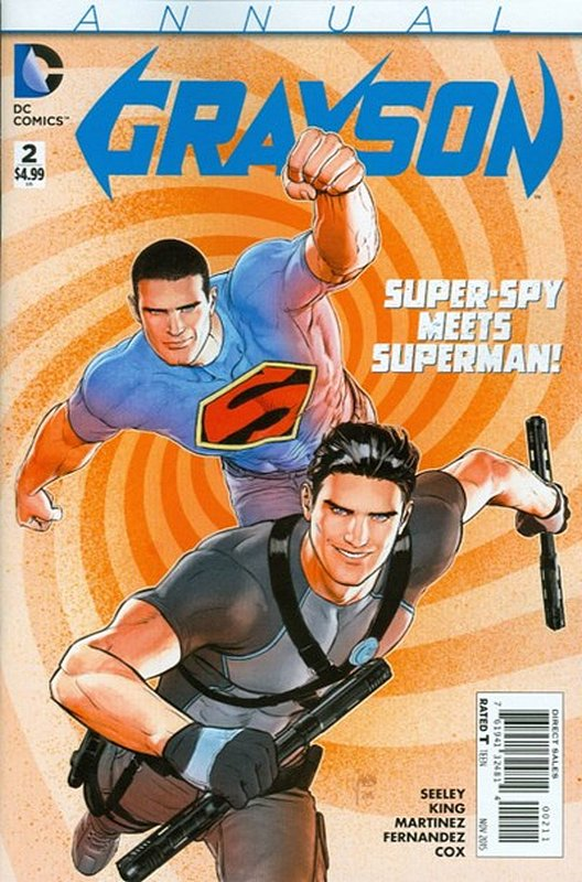Cover of Grayson Annual (Vol 1) #2. One of 250,000 Vintage American Comics on sale from Krypton!