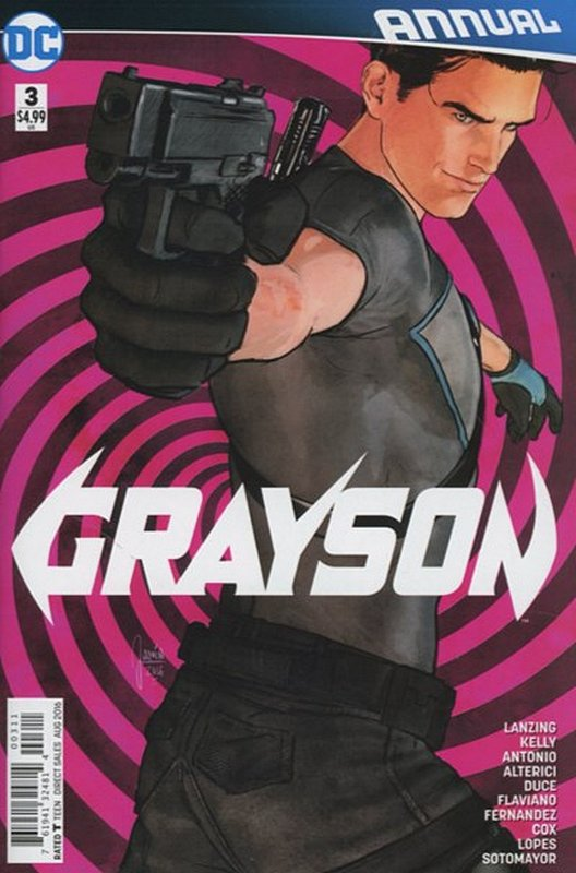 Cover of Grayson Annual (Vol 1) #3. One of 250,000 Vintage American Comics on sale from Krypton!