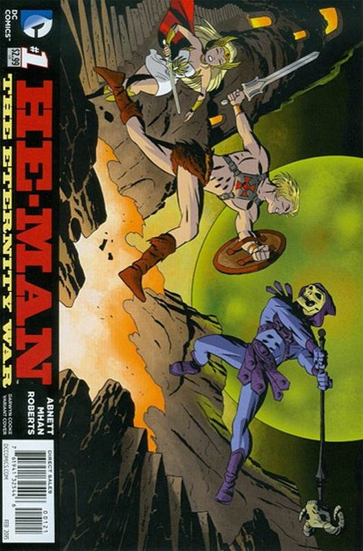 Cover of He-Man: Eternity War (Vol 1) #1. One of 250,000 Vintage American Comics on sale from Krypton!