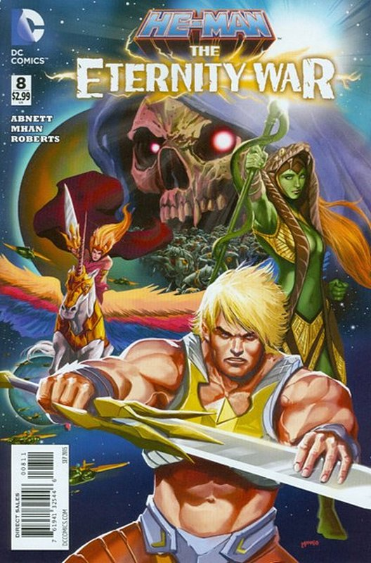 Cover of He-Man: Eternity War (Vol 1) #8. One of 250,000 Vintage American Comics on sale from Krypton!