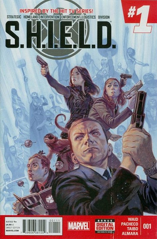 Cover of SHIELD (2014) #1. One of 250,000 Vintage American Comics on sale from Krypton!