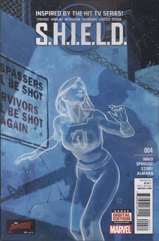 Cover of SHIELD (2014) #4. One of 250,000 Vintage American Comics on sale from Krypton!