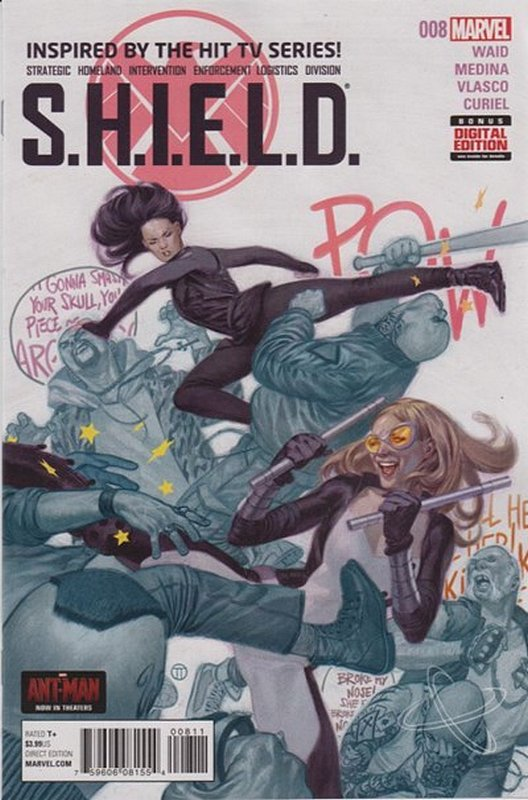 Cover of SHIELD (2014) #8. One of 250,000 Vintage American Comics on sale from Krypton!