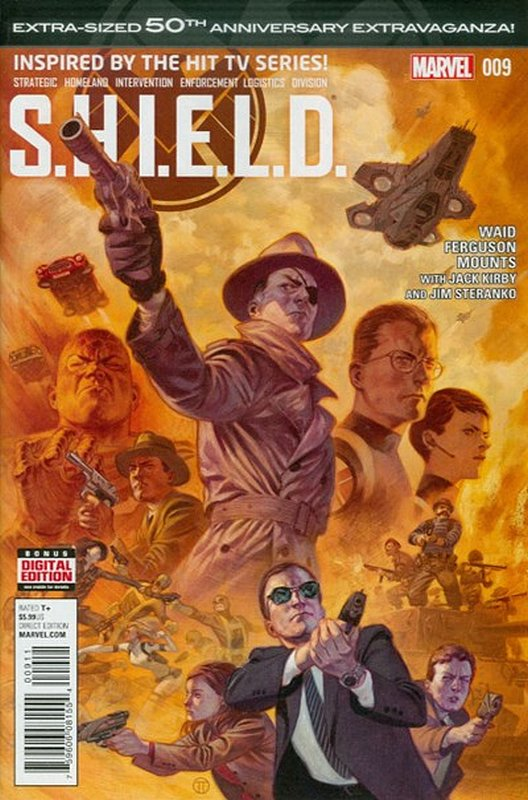 Cover of SHIELD (2014) #9. One of 250,000 Vintage American Comics on sale from Krypton!
