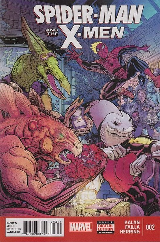 Cover of Spider-Man & X-Men (Vol 1) #2. One of 250,000 Vintage American Comics on sale from Krypton!