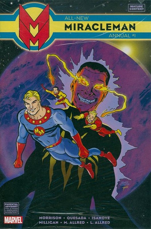 Cover of Miracleman (Marvel) Annual (Vol 1) #1. One of 250,000 Vintage American Comics on sale from Krypton!