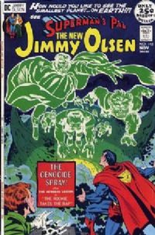 Cover of Jimmy Olsen (Vol 1) Supermans Pal #143. One of 250,000 Vintage American Comics on sale from Krypton!