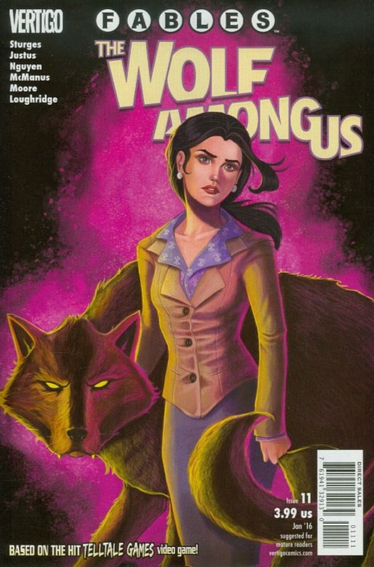 Cover of Fables: The Wolf Among Us (2015 Ltd) #11. One of 250,000 Vintage American Comics on sale from Krypton!