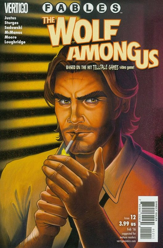 Cover of Fables: The Wolf Among Us (2015 Ltd) #12. One of 250,000 Vintage American Comics on sale from Krypton!