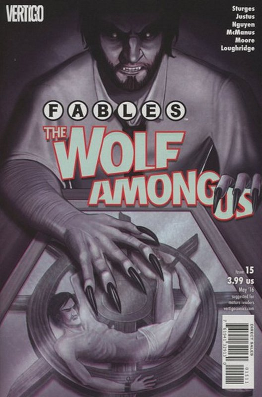 Cover of Fables: The Wolf Among Us (2015 Ltd) #15. One of 250,000 Vintage American Comics on sale from Krypton!