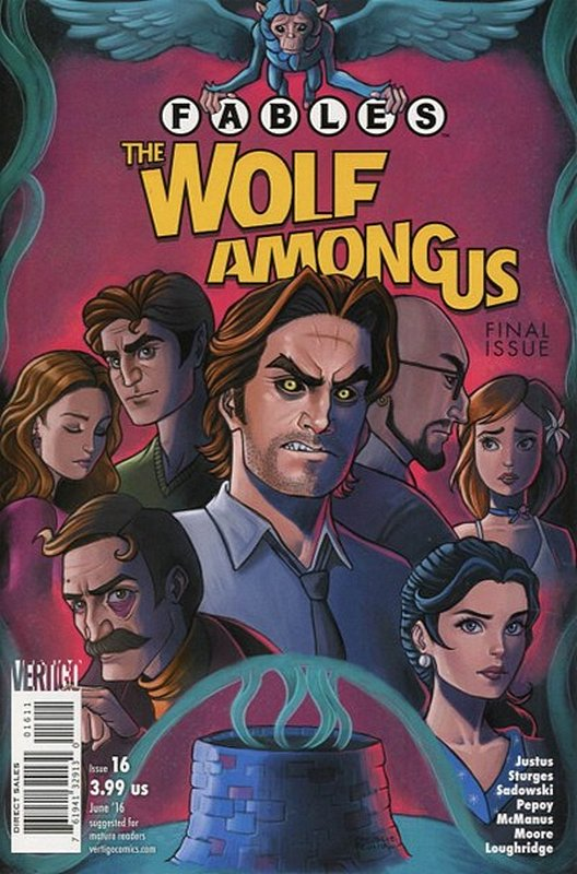 Cover of Fables: The Wolf Among Us (2015 Ltd) #16. One of 250,000 Vintage American Comics on sale from Krypton!