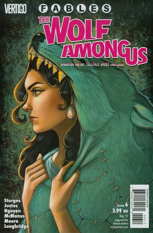 Cover of Fables: The Wolf Among Us (2015 Ltd) #6. One of 250,000 Vintage American Comics on sale from Krypton!