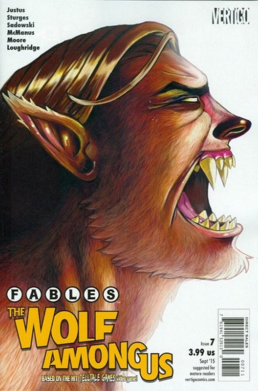 Cover of Fables: The Wolf Among Us (2015 Ltd) #7. One of 250,000 Vintage American Comics on sale from Krypton!