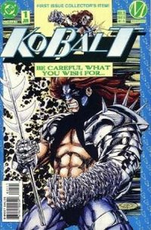 Cover of Kobalt (Vol 1) #1. One of 250,000 Vintage American Comics on sale from Krypton!