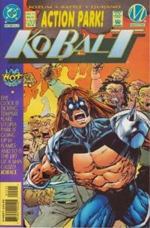 Cover of Kobalt (Vol 1) #15. One of 250,000 Vintage American Comics on sale from Krypton!