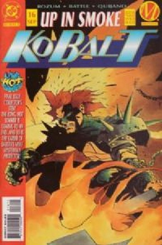 Cover of Kobalt (Vol 1) #16. One of 250,000 Vintage American Comics on sale from Krypton!