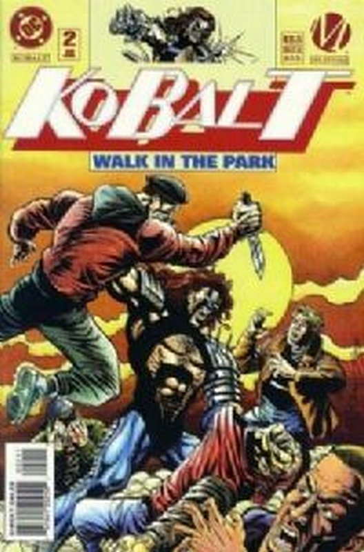 Cover of Kobalt (Vol 1) #2. One of 250,000 Vintage American Comics on sale from Krypton!